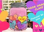Valentine Door Hanger Class