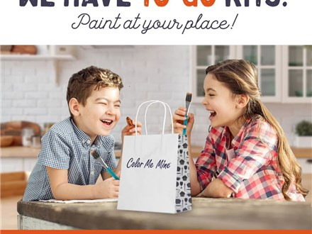 Paint Ceramics at Home - FREE Delivery