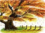 Autumn Tree: Canvas Class