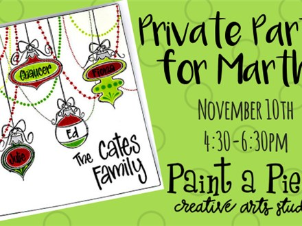 Private Party for Martha - 11/10/19