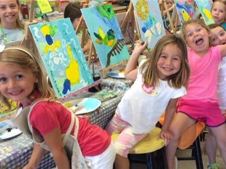 Canvas Party for Children and Teens