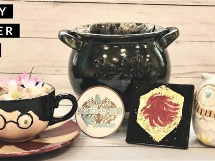 Harry Potter-y Kids Art Club