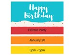 Forrest's Birthday - Private Party - Jan 28