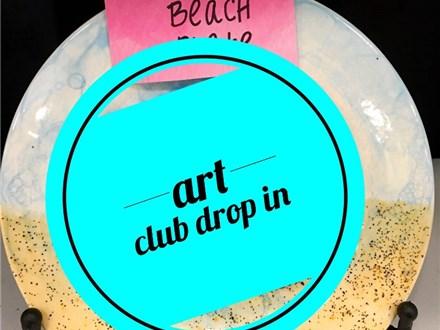 July Summer Art Club Drop In
