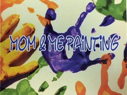 Mom & Me Painting, April 1, 2019