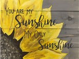Cara's Sunflower - 06.17.17