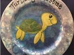 Painting Workshop - Turtle Snack Plate