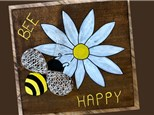 Wood String Art Paint & Sip - August 8th