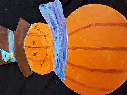St Cloud Community Ed Halloween Paint and Story