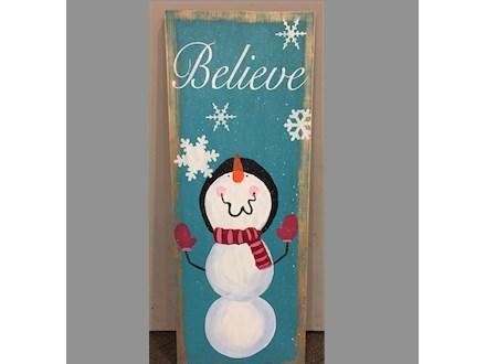 Believe Board Art Mini-Camp! Tuesday, December 27th 11a-1:30p