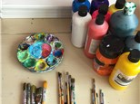 Unicorn Dreams! Paired Paintings Workshop - Saturday, May 5