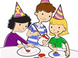 Birthday Party at Hot Pots Painting and Pottery Studio