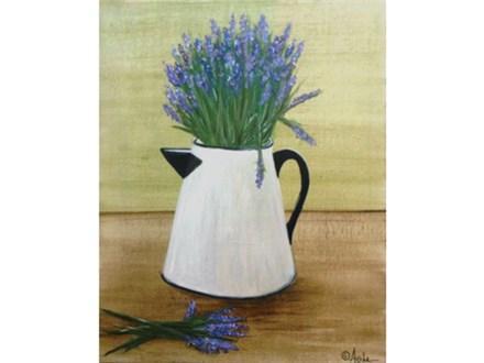 Fresh Lavender 16x20 canvas