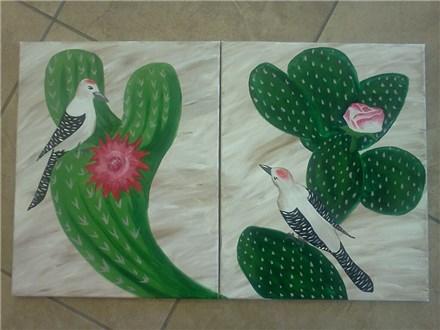 Couples Canvas - Cactus Couple - 07.29.17