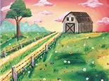 """""""Country Barn"""" Canvas Class, September 19th"""
