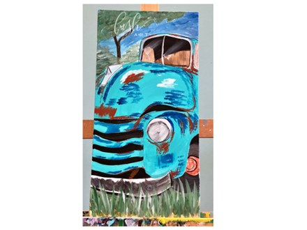Rusted Truck Paint Class