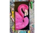 Flamingo Paint Class - WR