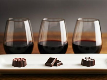 COUPON VOUCHER Chocolate Box Experience / Wine and Chocolate Experience