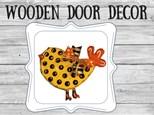 Door Decor - Chick