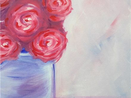 "Canvas Night ""Bouquet"" Saturday, September 10th 7-10pm"