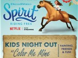 Kids Night Out at Color Me Mine - Henderson, NV 08/24/18
