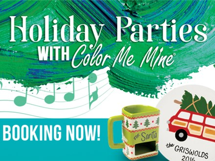 Holiday Office Parties At Color Me Mine!