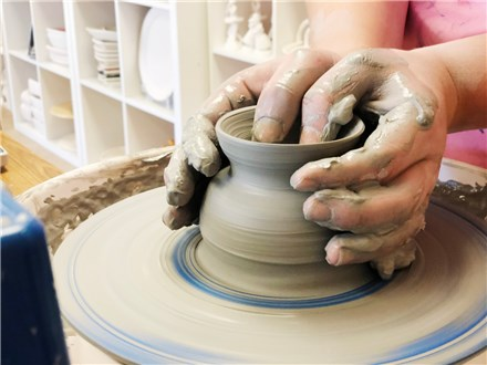 Pottery Wheel Workshop - Evening Session - 04.09.20