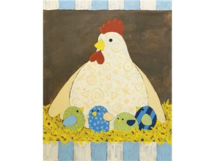 Mother Hen Canvas Class