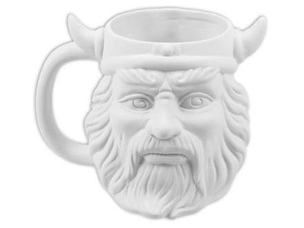 Viking Mug - Ready to Paint - ONLY 2 LEFT!