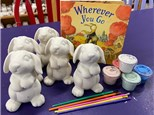 Story Time Reading and Painting Pottery Kits