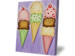 Summer Camp Tuesday, June 26th Ice Cream Canvas
