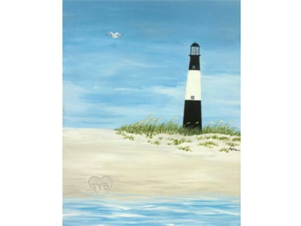 Tybee Lighthouse - 16x20 canvas