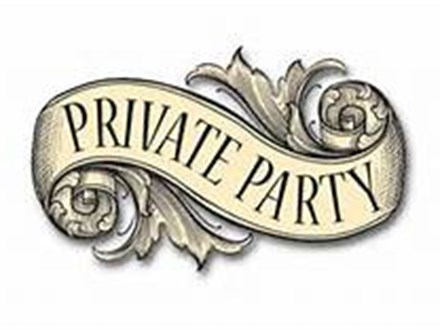 Closed ~ Private Party