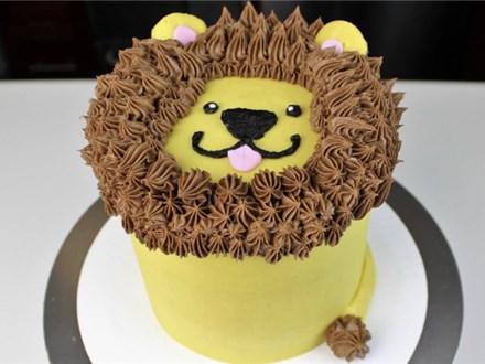 Toddler/Parent Sweet Reads Friendly Lion Mini Cake Class