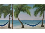 Coastal Paradise - Class for Couples and Singles - 1 canvas per person. 16x20 canvas