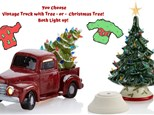 Vintage Truck w Tree OR Christmas Tree UGLY SWEATER PARTY- December 7th