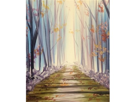 "Canvas Night, ""Autumn Path,"" Sept. 18th 7-10pm"