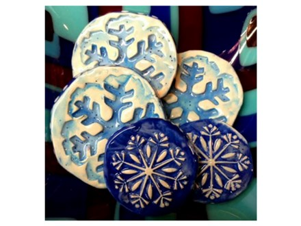 Clay Snowflakes - 12/18