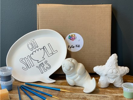 PoGo Kits: Paint Your Own Pottery ToGo! (Oh Shell Yes)