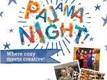 Pajama Night at Color Me Mine Porter Ranch