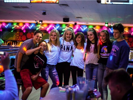Teen Party Package - Glow Bowling