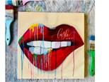 Rainbow Lips Paint Class - WR