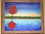 "Canvas Night, ""Fall Reflection,"" Nov. 14th 7-10pm"
