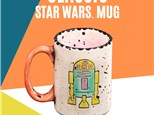 """ Classic Star War Mug"" To-Go Kit - at Color Me Mine - Aspen"