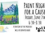Paint Night for a Cause, June 7th