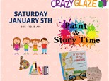 Ticket for Story Time-Jan 5th-Give a Pig a Pancake