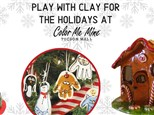 Clay for the Holidays - December 7th @ 4pm