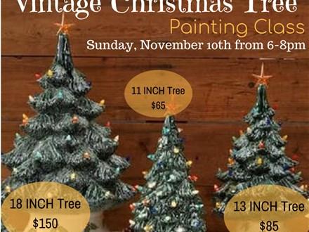 Christmas Tree Class: Sunday, November 10th