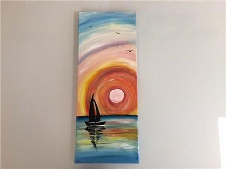 Sailboat Sunset (Adult) Canvas Class