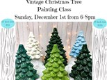 The Last Vintage Christmas Tree Class of the Year: Sunday, December 1st